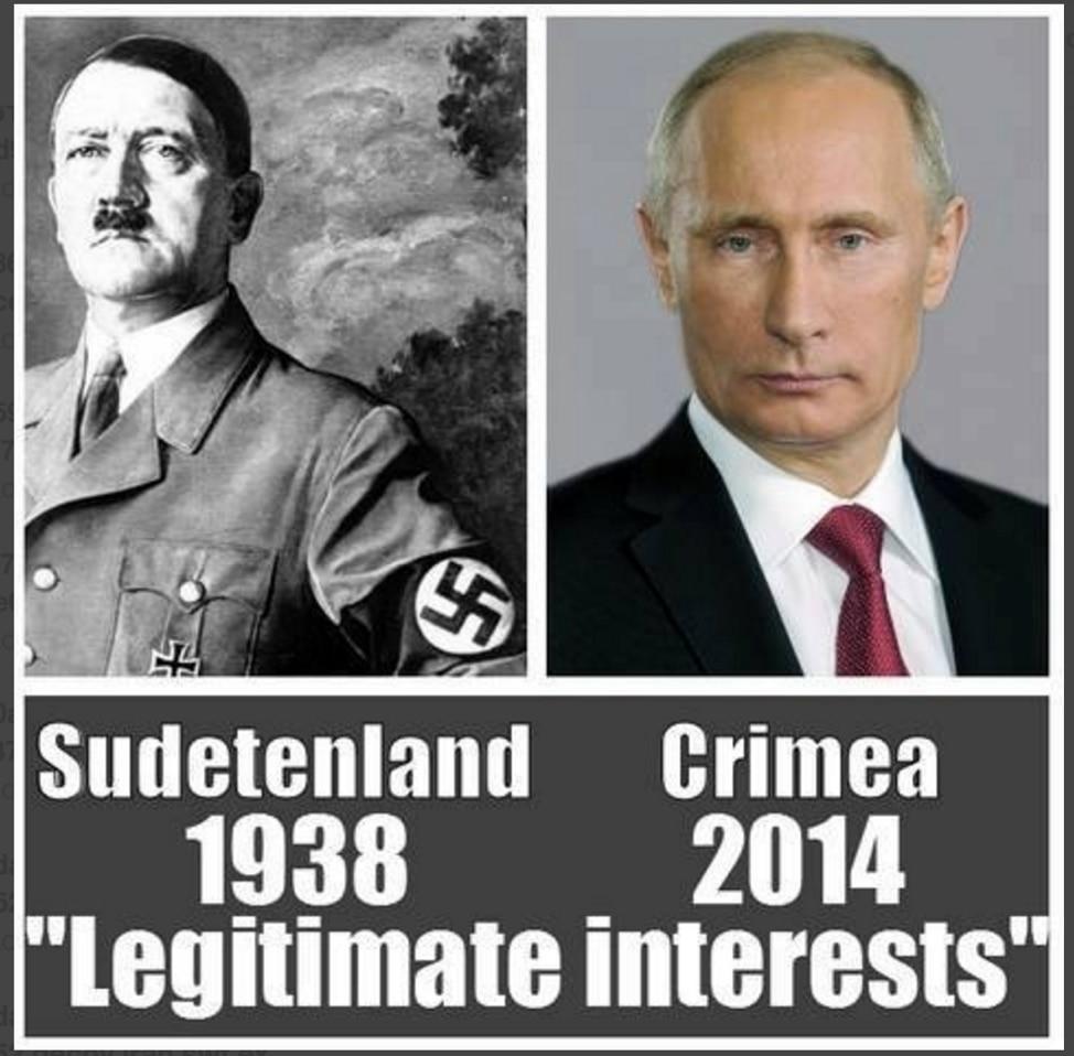 図 5: おとり文書に用いられた反プーチンの画像