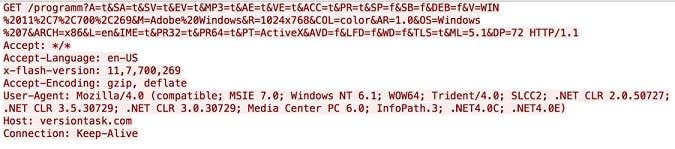 図2 DealersChoiceからC2サーバへの最初のビーコン