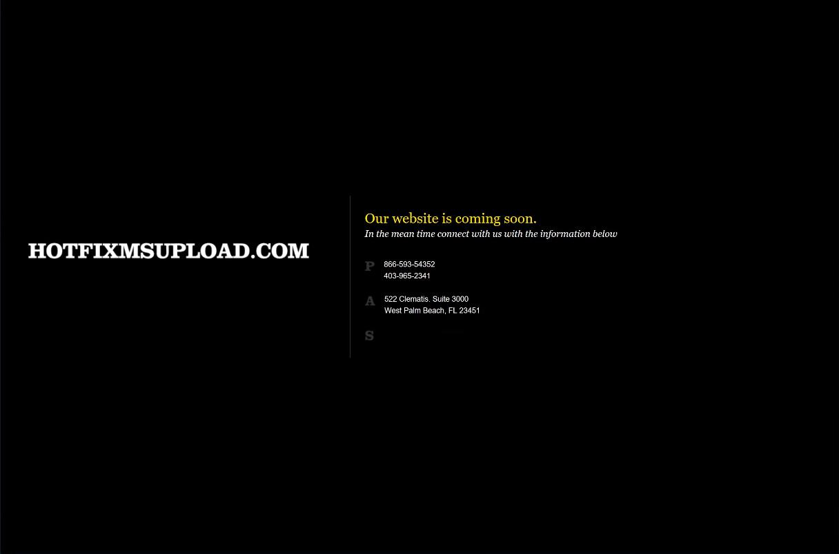 図6 hotfixmsupload.comドメインのデフォルト ランディング ページ